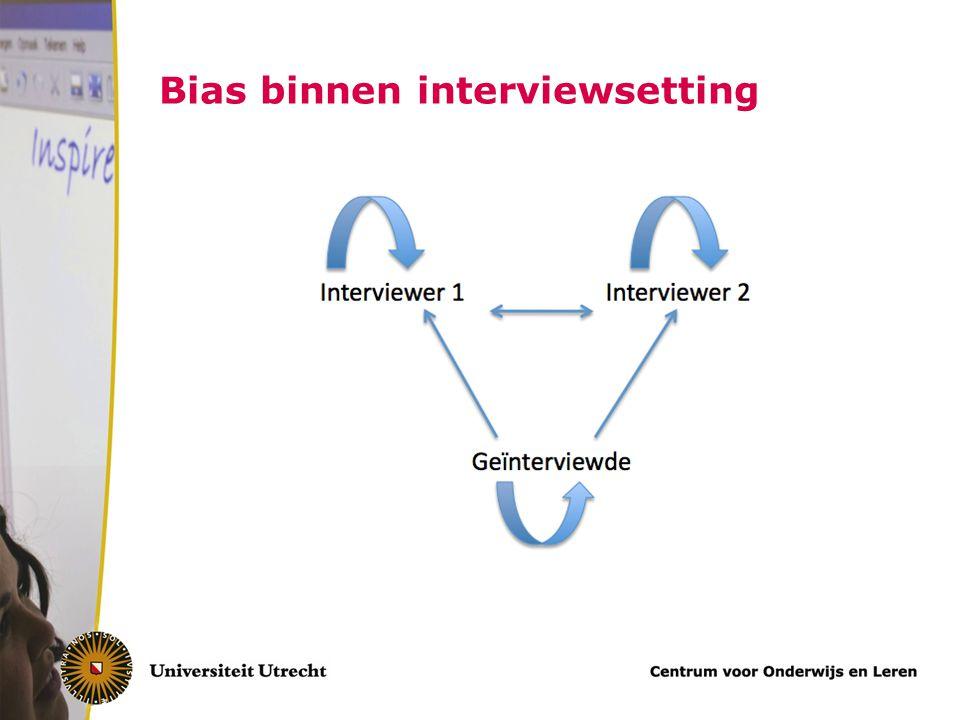 Tips confirmation bias Vermijd constructies:Vraag liever Je dacht zeker…Wat dacht je over..