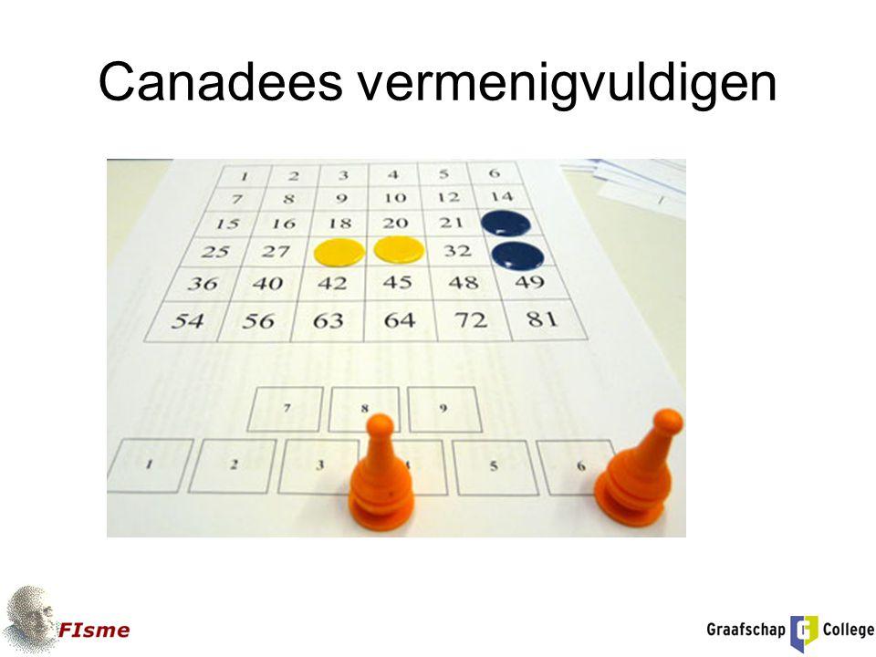 Canadees vermenigvuldigen