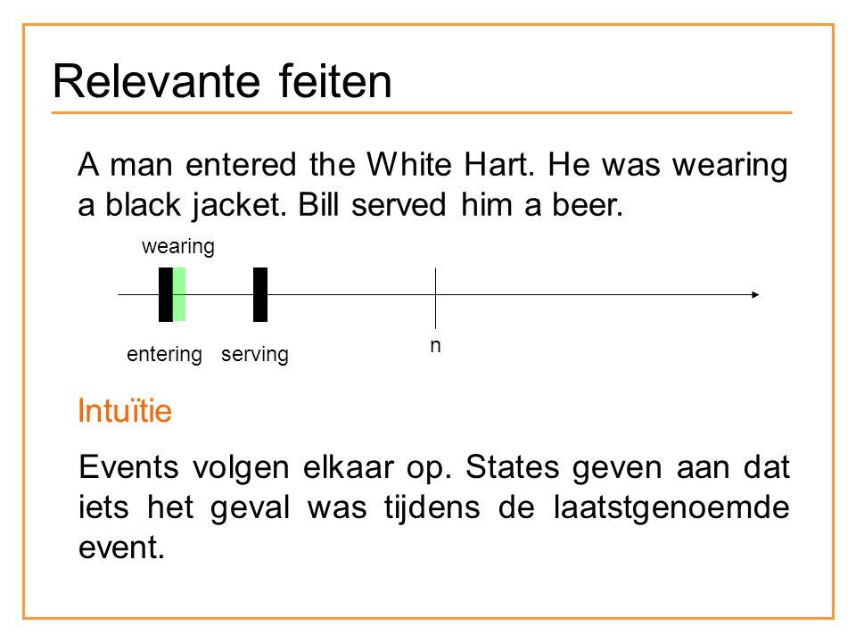 Relevante feiten Jan sprong van zijn fiets, liep achter de boef aan, greep hem bij de arm en vloerde hem.