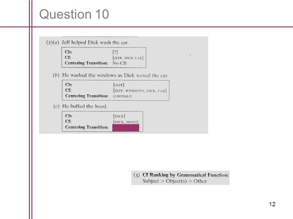 12 Question 10