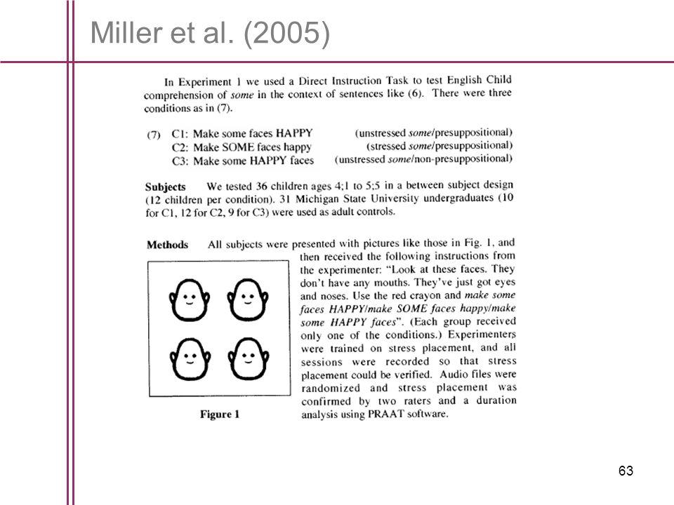 63 Miller et al. (2005)