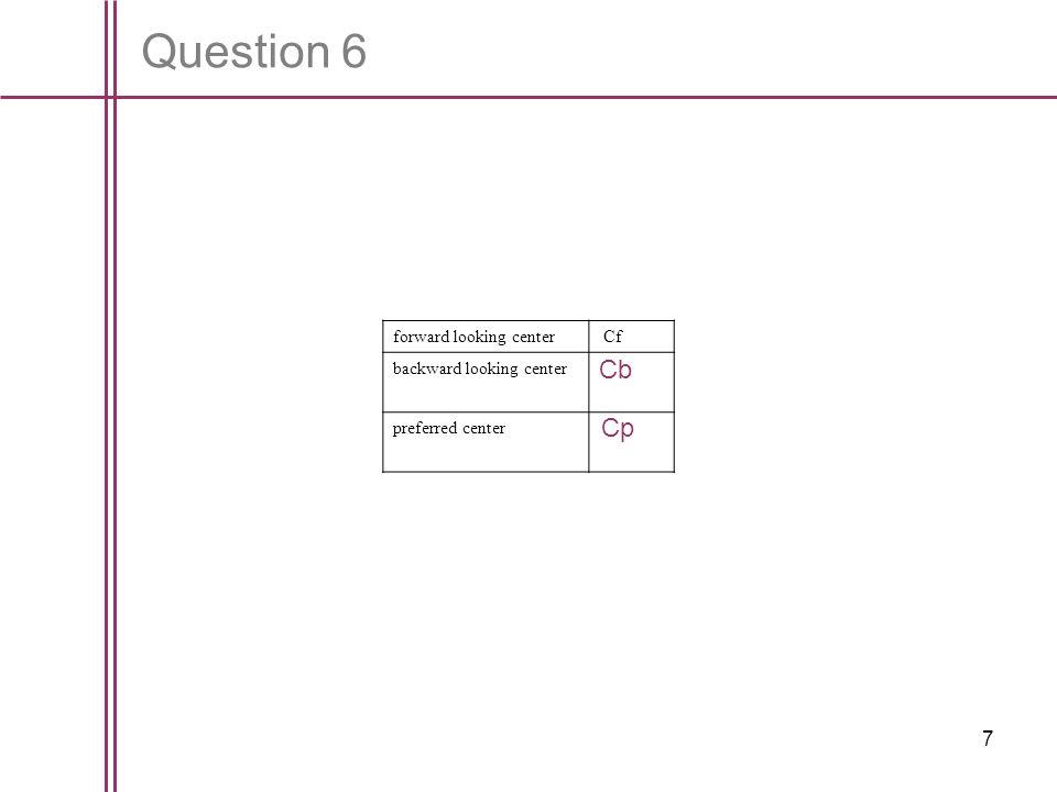 8 Question 7
