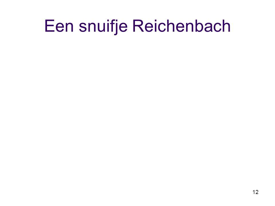 12 Een snuifje Reichenbach