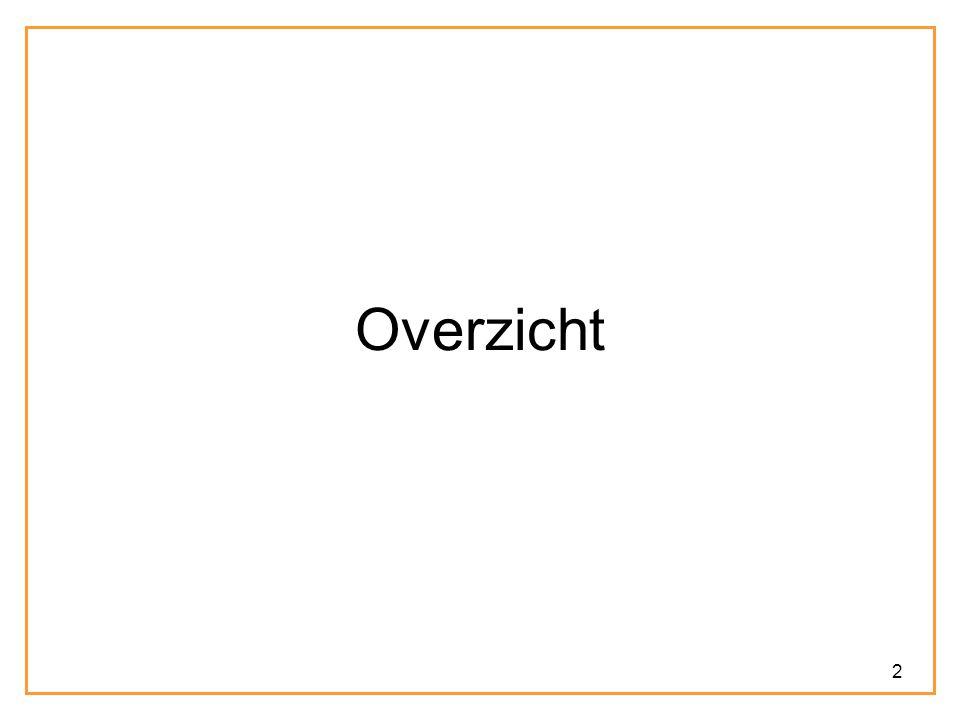 13 Overzicht In het Frans – maar niet in het Nederlands – kan je op het werkwoord aangeven of je iets als een event of state wil beschouwen.