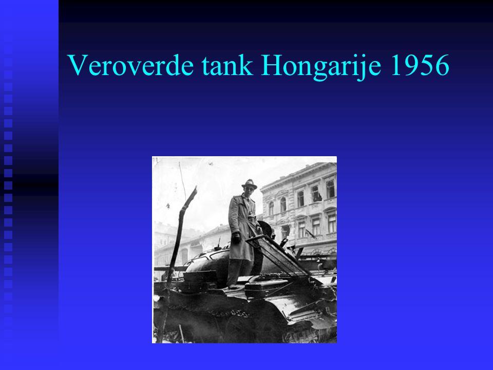 Veroverde tank Hongarije 1956