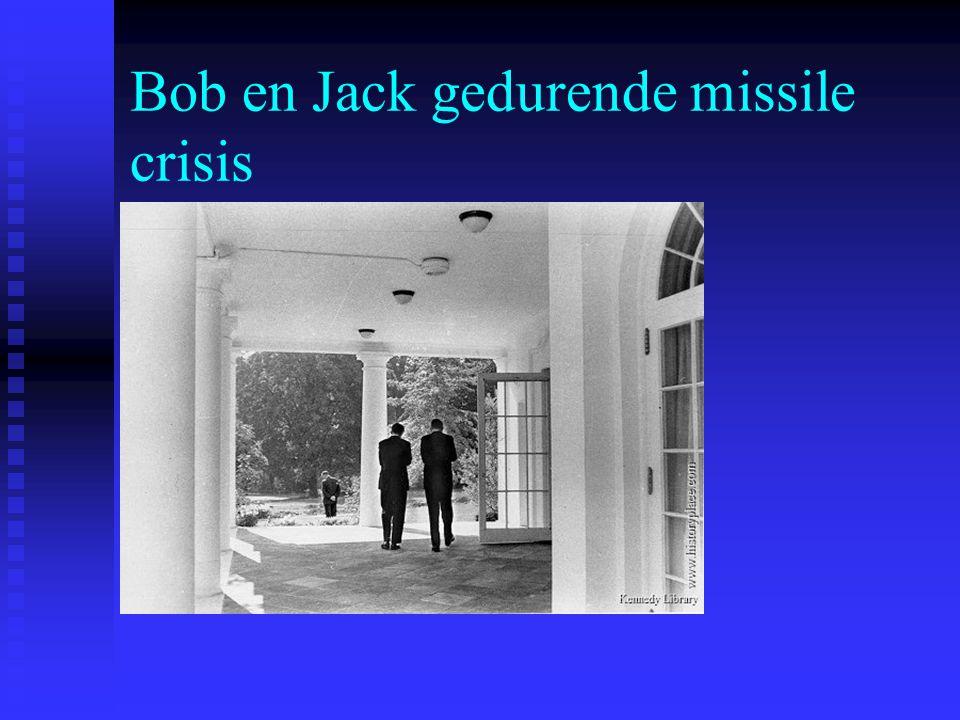 Bob en Jack gedurende missile crisis