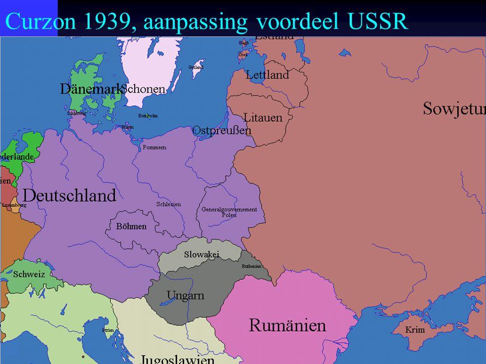 Curzon 1939, aanpassing voordeel USSR