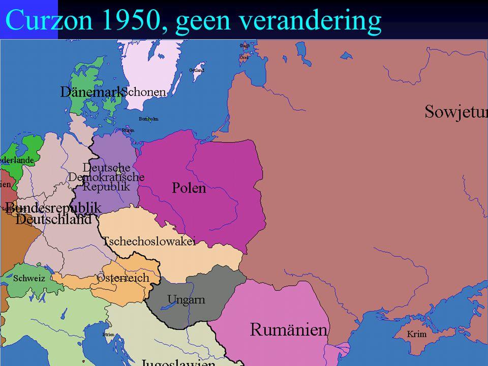 Curzon 1950, geen verandering