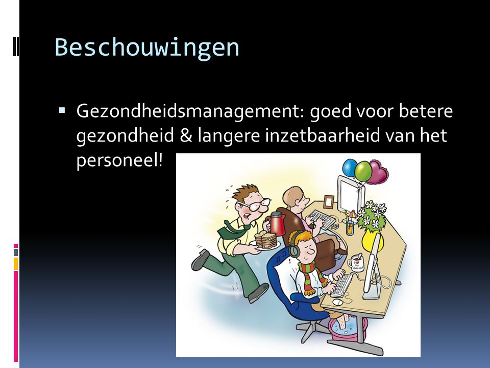 Discussie…  Slechte gezondheid was aanwezig voor zowel arbeidsongeschiktheid  MAAR ook voor werkloosheid en vroegpensioen…