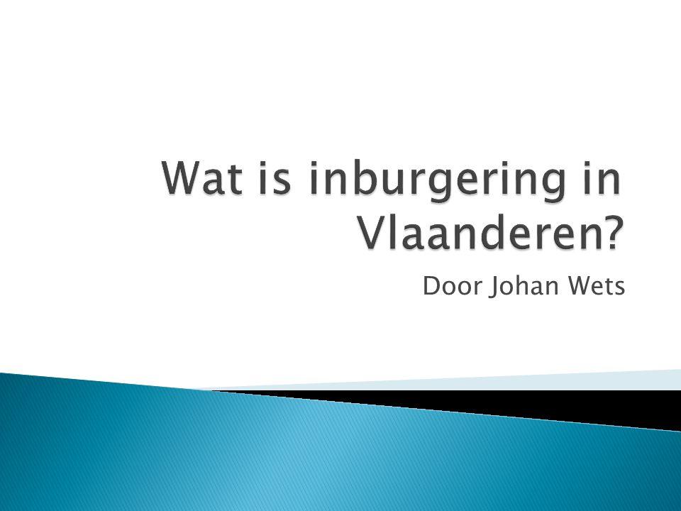 Door Johan Wets