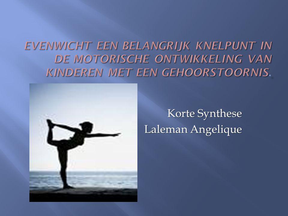 Korte Synthese Laleman Angelique