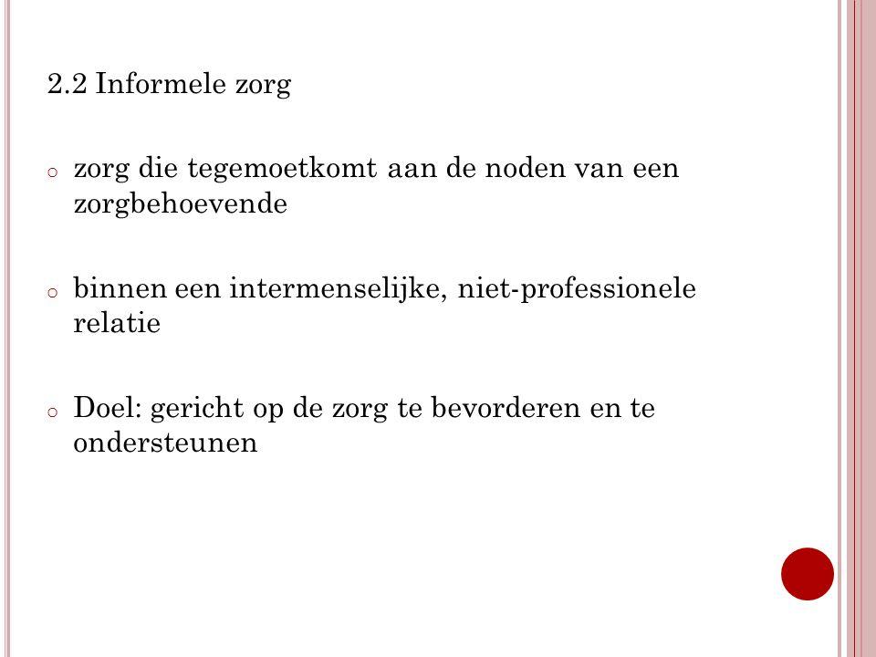 3.O NDERZOEK ' Sociaal- Culturele Verschuivingen in Vlaanderen'.