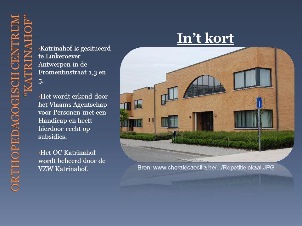 Katrinahof is gesitueerd te Linkeroever Antwerpen in de Fromentinstraat 1,3 en 5. Het wordt erkend door het Vlaams Agentschap voor Personen met een Ha