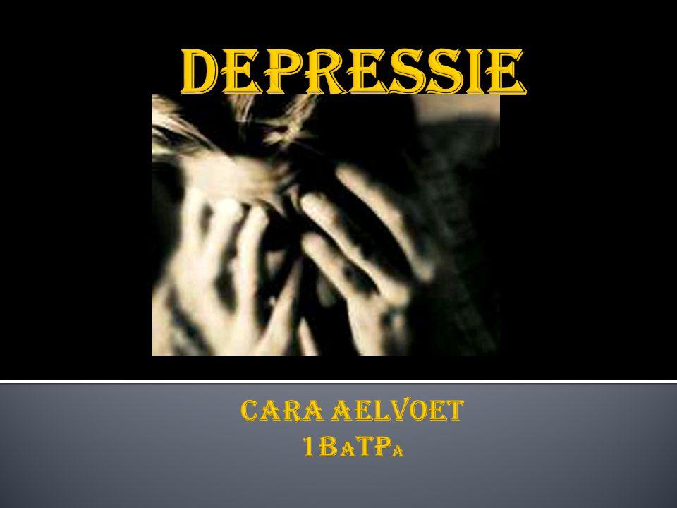  Inleiding  Omschrijving van depressie  Prevalentie  Theoretische visies op depressie  Diagnostiek en indicatiestelling  Behandelingen van depressie  Aanbevelingen voor de praktijk