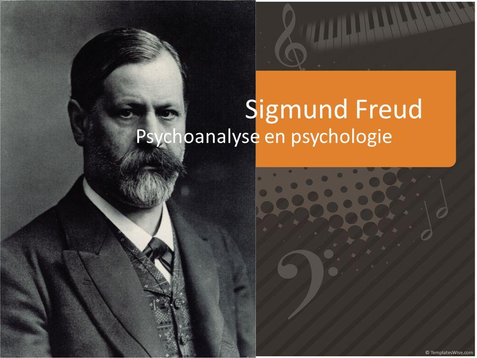Sigmund Freud Psychoanalyse en psychologie