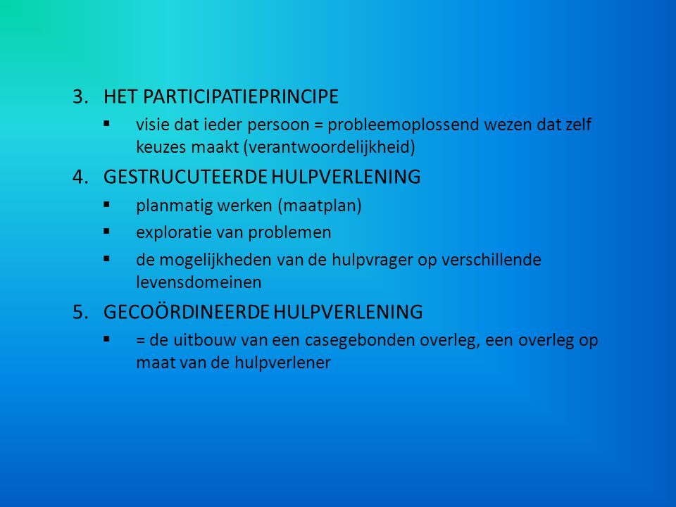 ONDERZOEK 'MAATZORG IN DE THUISLOZENZORG' (DEMEYER, PRINCEN & VAN REGENMORTEL, 1997) Maatzorg toetssteen voor kwaliteit in de thuislozenzorg Vragen: – In hoeverre onderschrijven de Vlaamse onthaalcentra het maatzorgconcept.