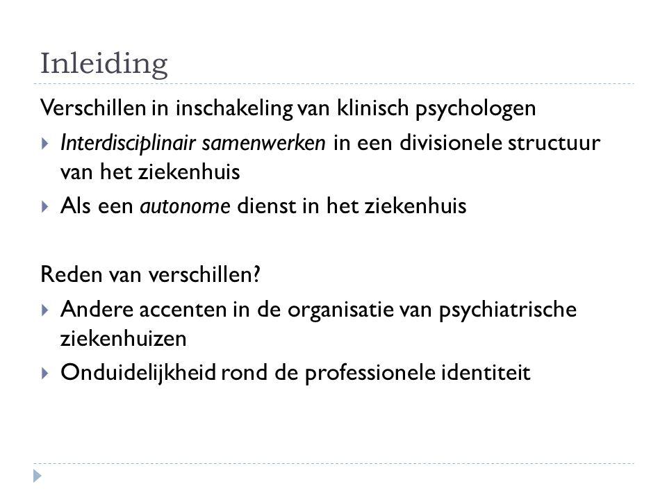 Functieomschrijving klinisch psycholoog  Zich richten op: - Het psychologisch functioneren - De ervaring van mensen - Het gedrag van mensen  Analyseren