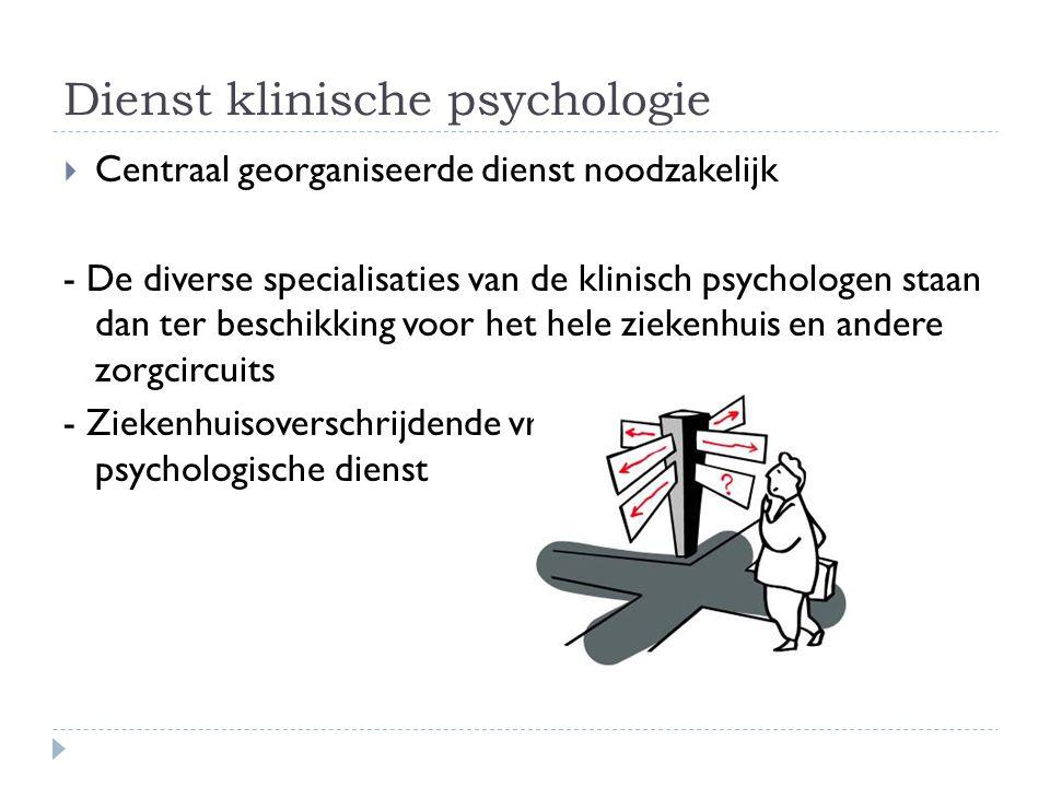 Het klinisch-psychologisch werkmodel  Klinisch psychologie moet evolueren  Specifieke bijdrage: particulariteit van de samenwerkingsrelatie met de cliënt  Analyseren van interactie tussen verschillende determinanten van het menselijke gedrag: - Intrapsychische - Biologische - Interpersoonlijke - socioculturele