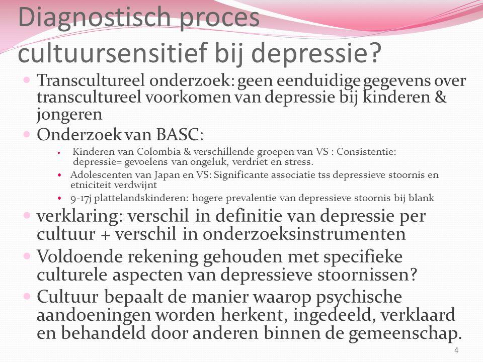 Diagnostisch proces cultuursensitief bij depressie.