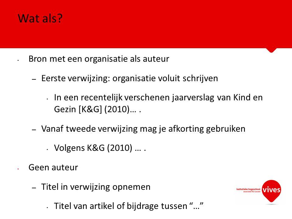 Eerst informatie over bijdrage en dan over verzamelwerk Goethals, J.