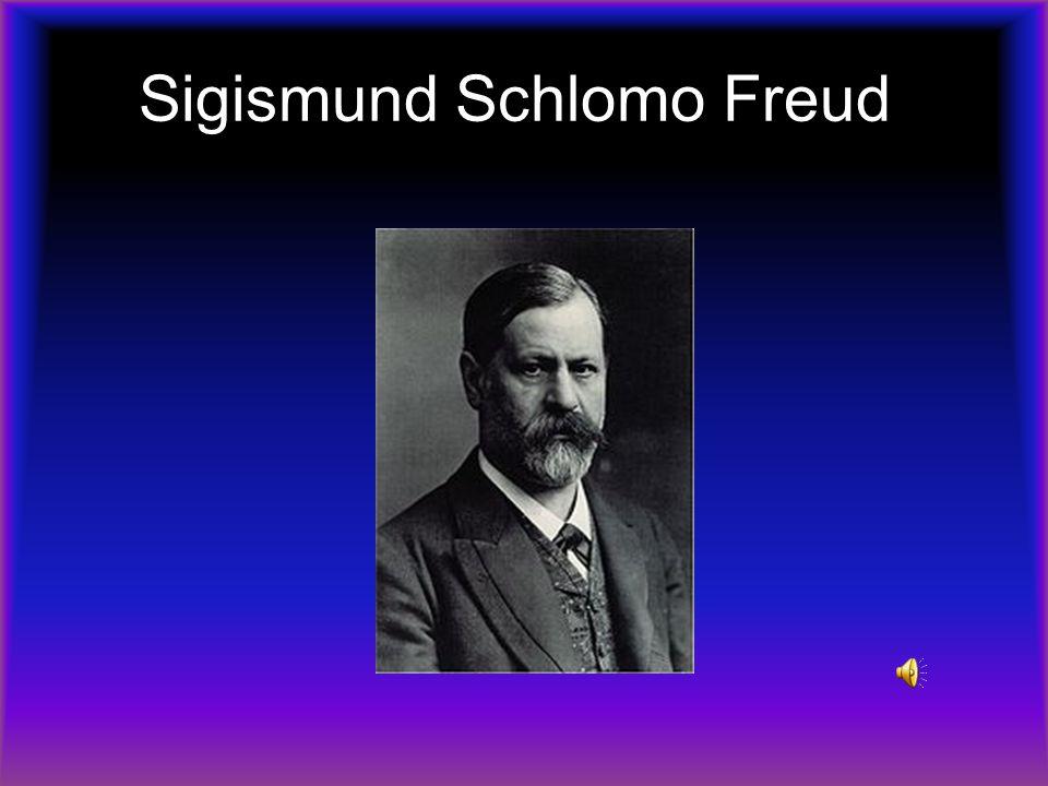 Sigismund Schlomo Freud.