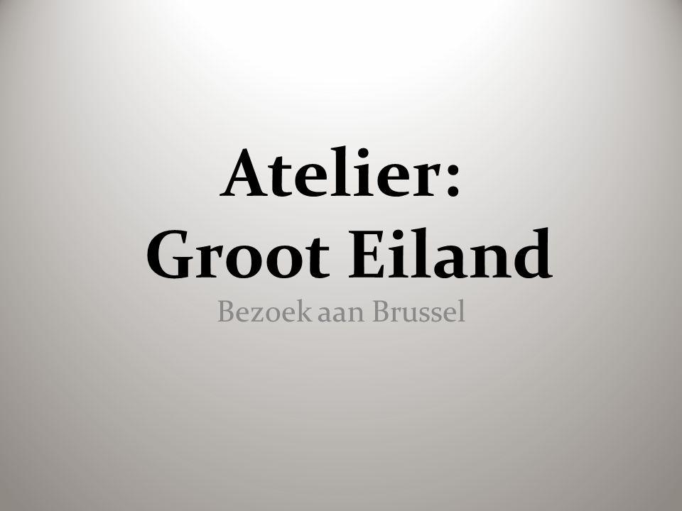 Atelier: Groot Eiland Bezoek aan Brussel
