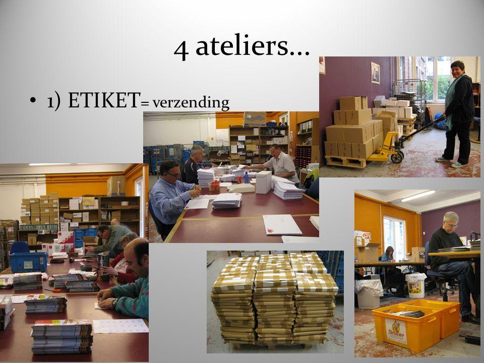4 ateliers... 2) HEKSENKETEL = horeca