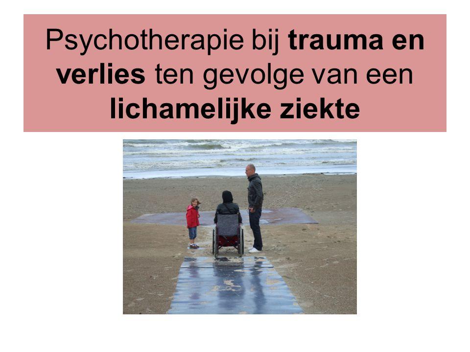 Psychotherapie bij trauma en verlies ten gevolge van een lichamelijke ziekte