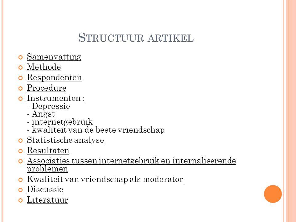 O RGANISATIES BETROKKEN BIJ HET THEMA onderzoeksgroep Adolescentie van de Universiteit Utrecht.