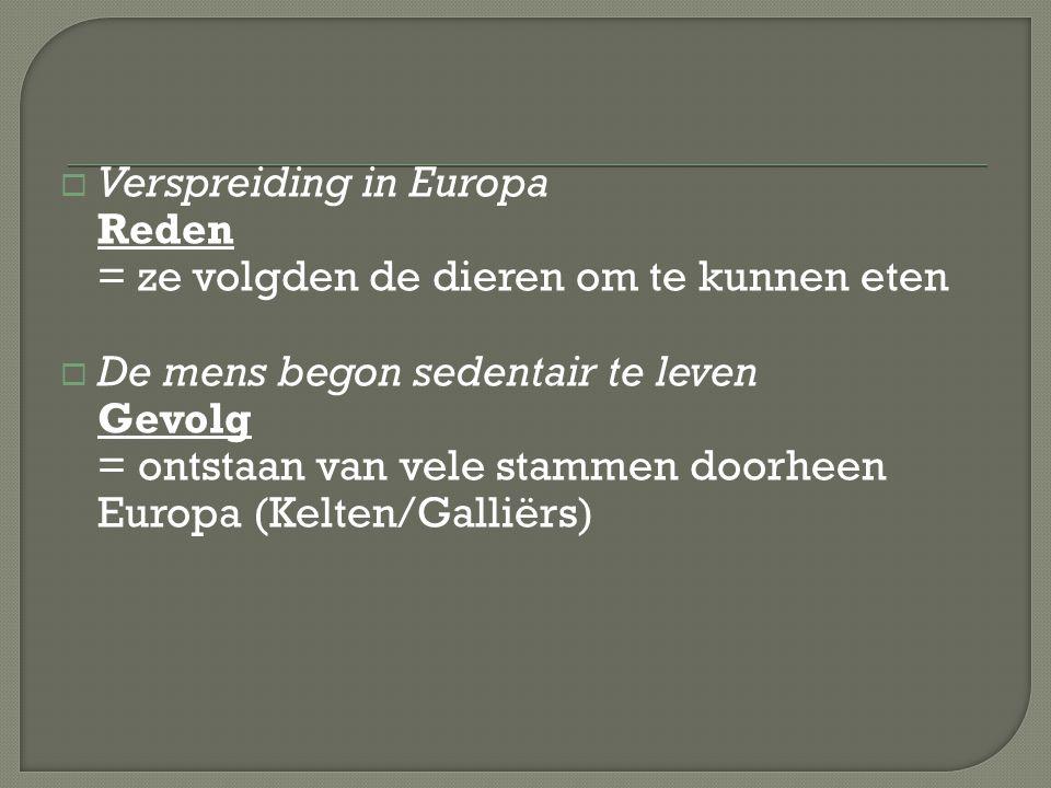  Julius Caesar veroverde Europa  De Belgen waren de dappersten van alle Galliërs Probleem: Wie waren die Belgen.