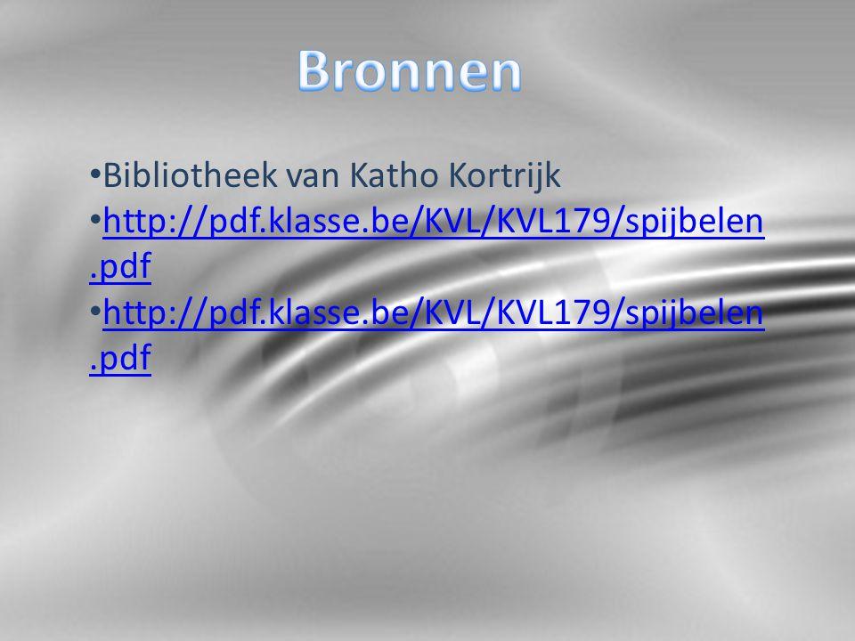 Bibliotheek van Katho Kortrijk http://pdf.klasse.be/KVL/KVL179/spijbelen.pdf http://pdf.klasse.be/KVL/KVL179/spijbelen.pdf http://pdf.klasse.be/KVL/KVL179/spijbelen.pdf http://pdf.klasse.be/KVL/KVL179/spijbelen.pdf