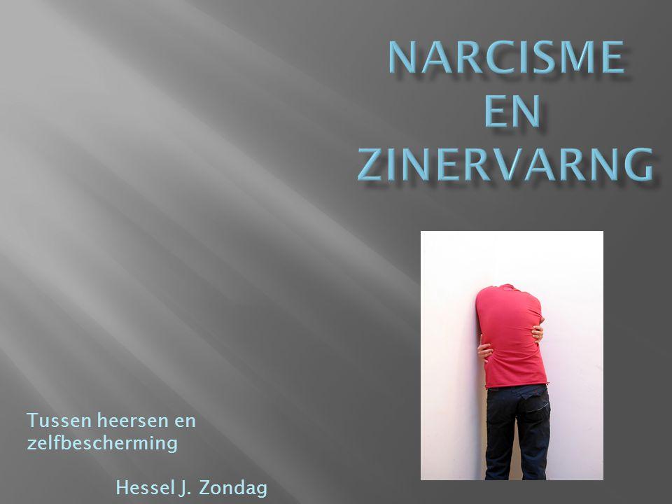 Tussen heersen en zelfbescherming Hessel J. Zondag