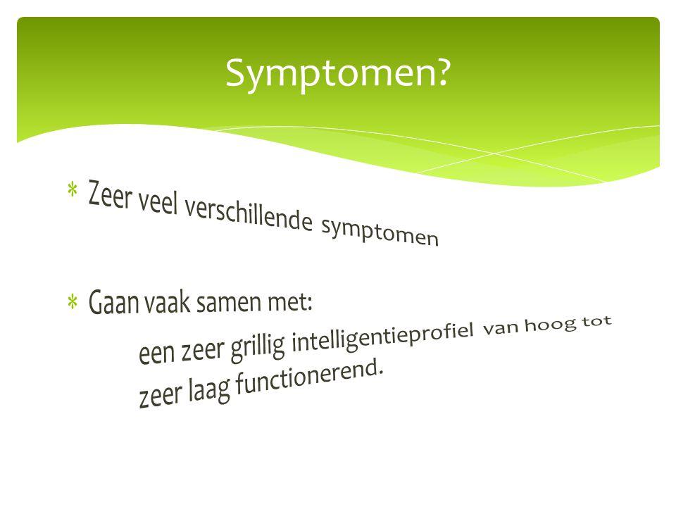 Symptomen?