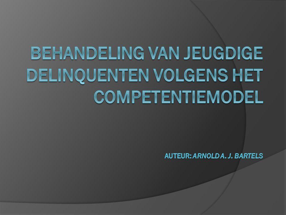 Oorsprong Het competentiemodel ontstond in het Pedagogisch Instituut Amsterdam /Duivendrecht.