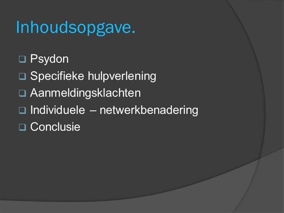 Psydon.April 1993.  Oprichting doventeam in regio Noord- Holland en Westelijk Flevoland.