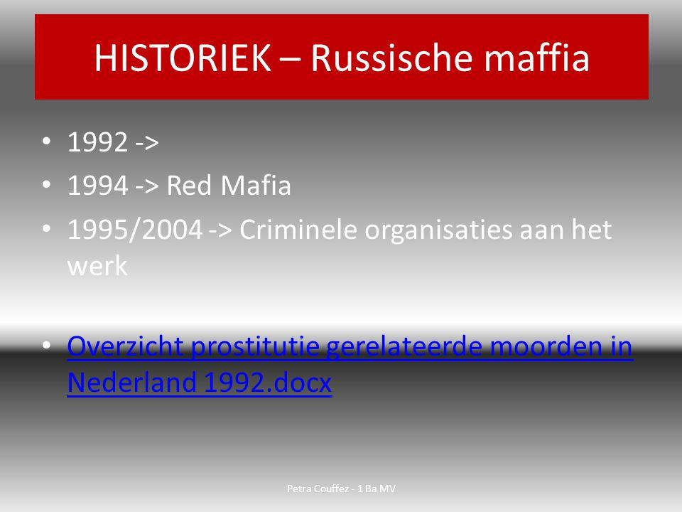 Interviews met een aantal criminelen in Nederland.