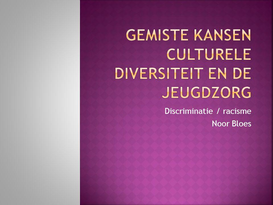 Discriminatie / racisme Noor Bloes