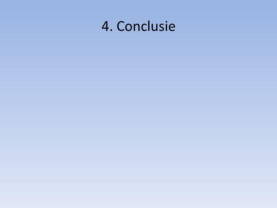 4. Conclusie