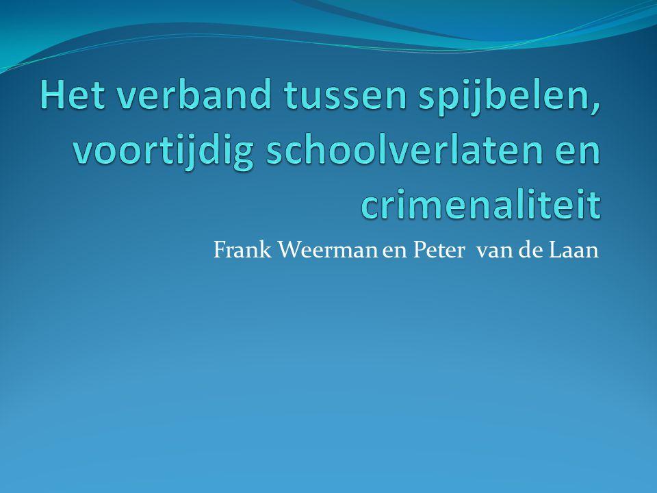 Frank Weerman en Peter van de Laan