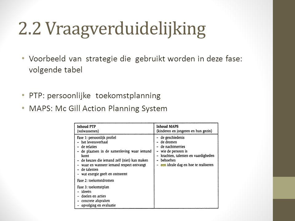 Iedere strategie vertrekt vanuit een basisprincipe 1.Persoon met handicap staat centraal bij het uitstippelen van levensproject.