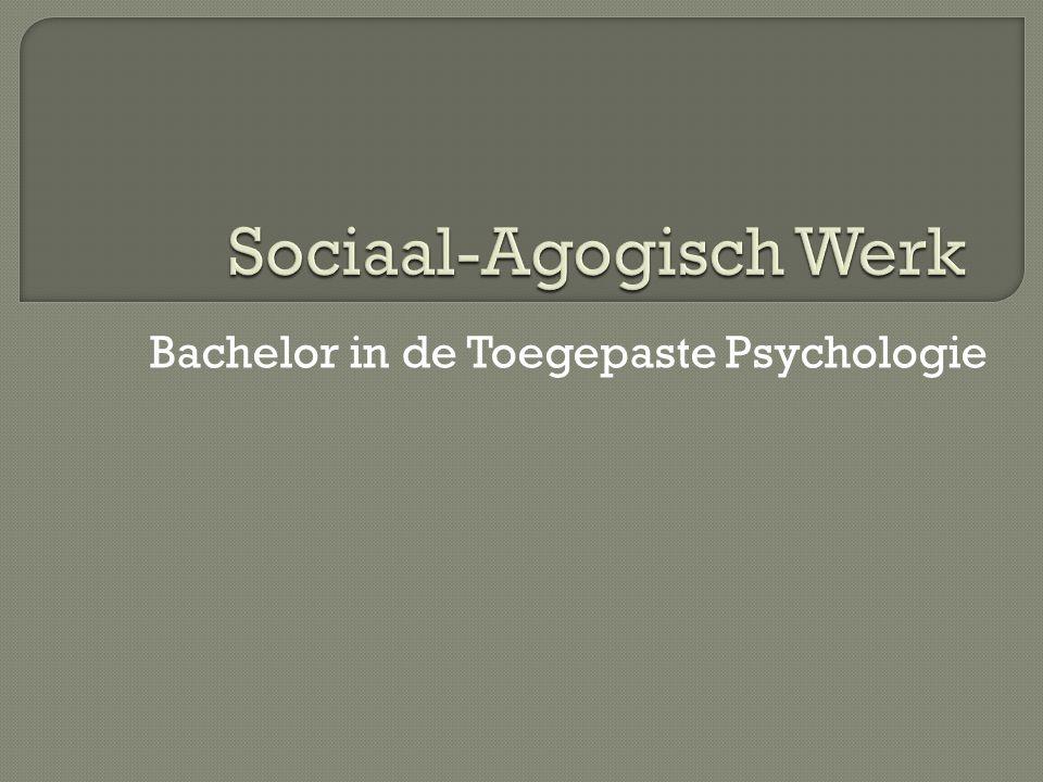 Bachelor in de Toegepaste Psychologie
