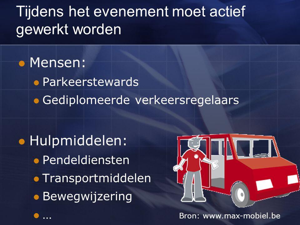De verkeersregelaar Soorten: Landelijk (transportbegeleiders) Onrechtstreeks (wegwerkers, brandweerlieden,…) Evenementen-verkeersregelaars (ter ontlasting van de politie) Personeelsleden van de rijkswaterstaat