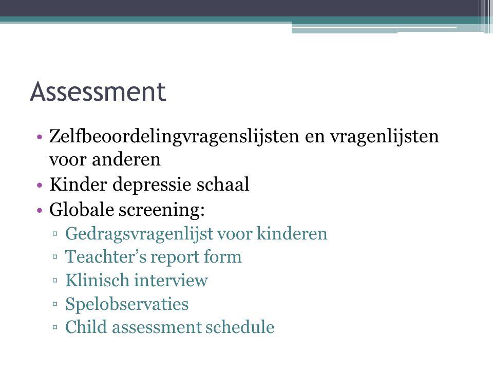 Etiologie: determinanten Factoren in het kind zelf: ▫Genetische verandering ▫Hechtingsstoornis ▫Negatieve cognitieve stijl ▫...