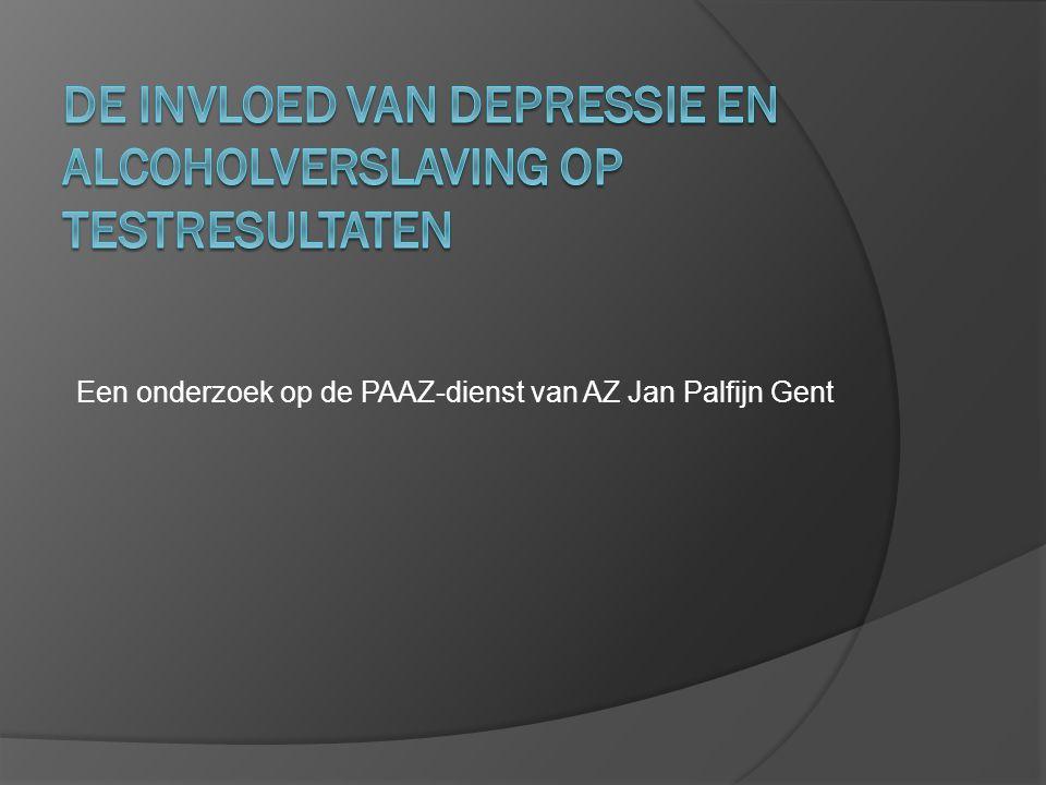 Een onderzoek op de PAAZ-dienst van AZ Jan Palfijn Gent