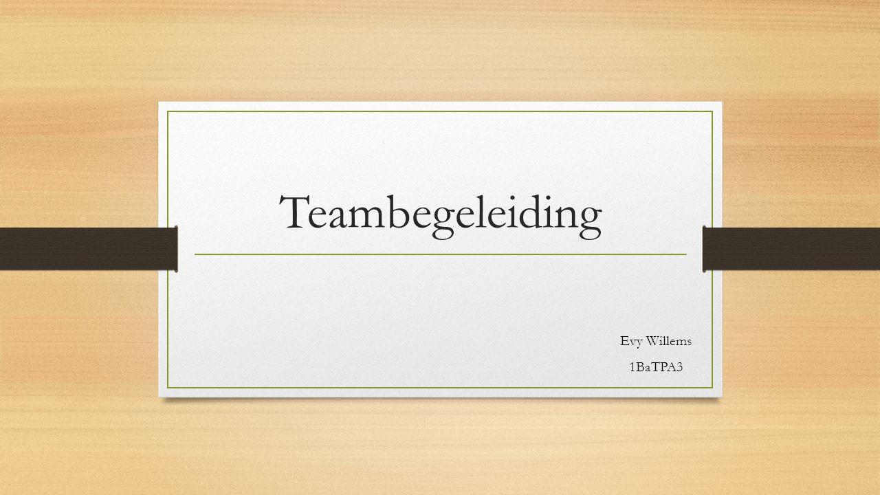 Uitgangspunt begeleidingsthema's vragen om een passende begeleidingsmethodiek 2 voorwaarden: Methodiekkant: helderende afbakening van diverse professionele begeleidingsvormen aanwijzingen van differentiële inzet nodig Inhoudelijk: onderscheid tussen twee soorten teams hun specifieke begeleidingsbehoeftes onderscheiden