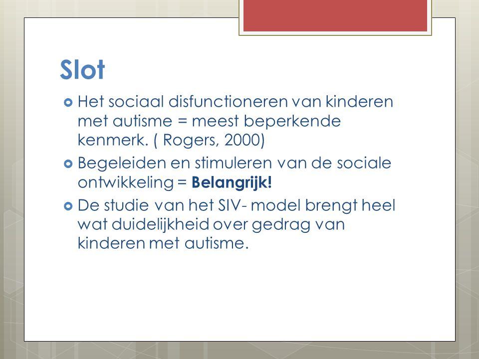 Sociale Informatie Verwerkingsmodel  Beschrijft een aantal stappen voordat een kind gedrag vertoont in een sociale situatie.  Stap 1: waarnemen van