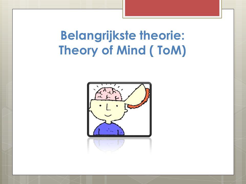 3 theorieën rond autisme.