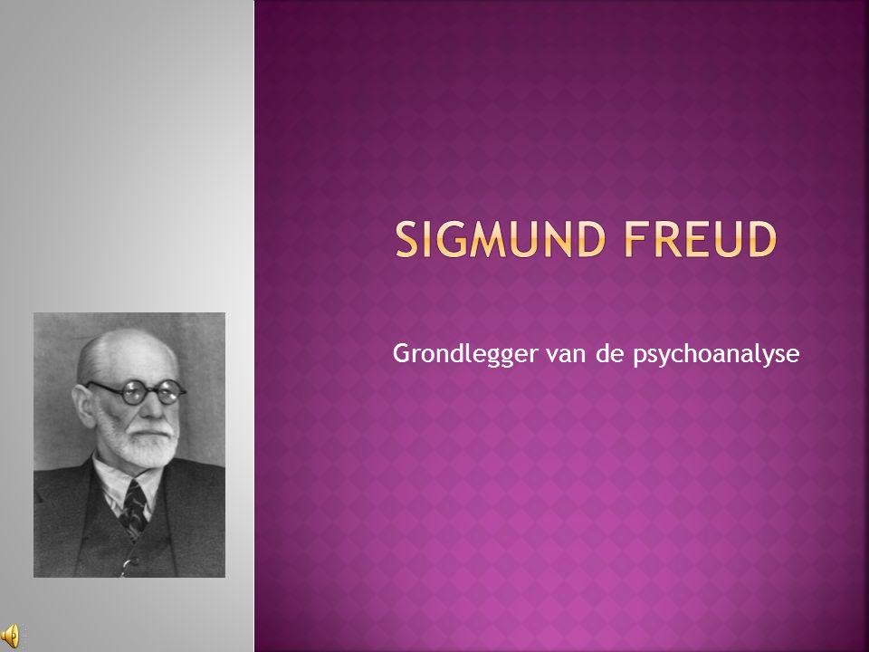 Grondlegger van de psychoanalyse