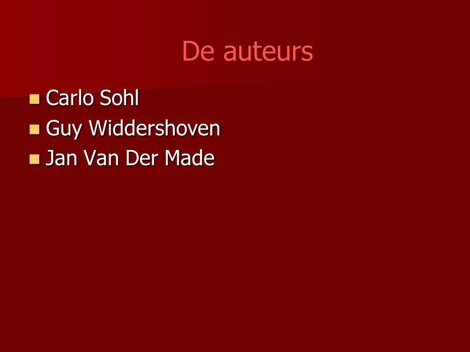 Carlo Sohl Carlo Sohl Guy Widdershoven Guy Widdershoven Jan Van Der Made Jan Van Der Made