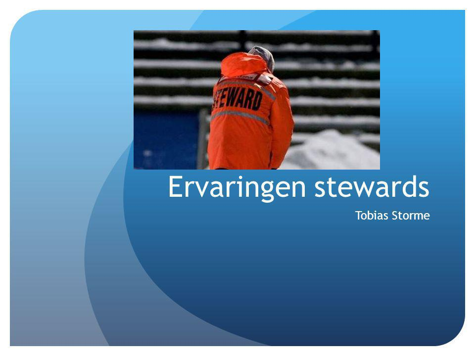 Tobias Storme Ervaringen stewards